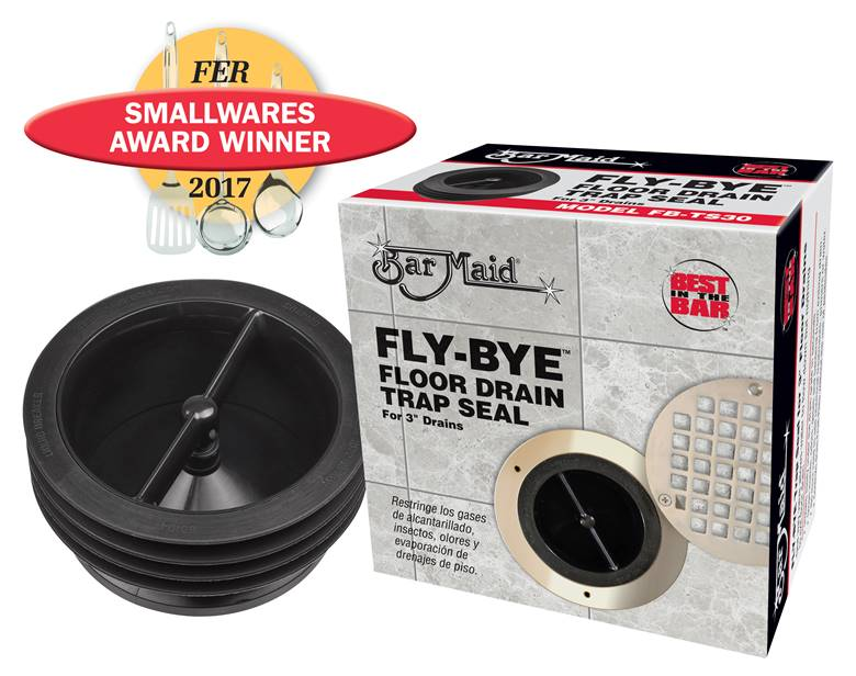 Bar Maid®Fly-Bye™ Floor Drain Trap Seal